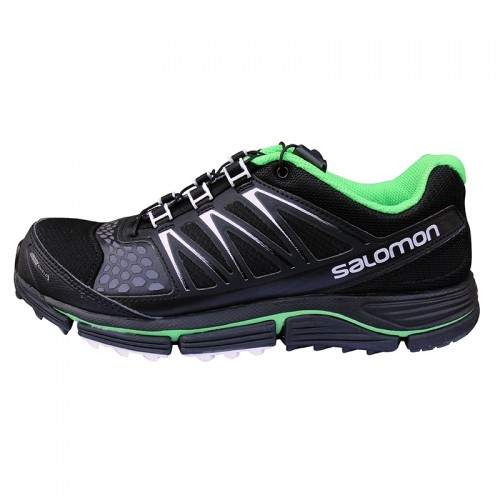 Salomon XR Crossmax 2 CS Black-Black-Fluo Green