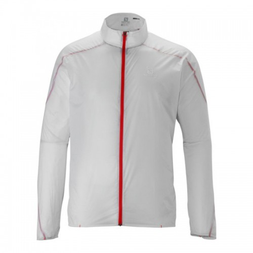 Salomon S-Lab Light Jacket M White férfi széldzseki