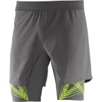 Salomon Intensity Twin Skin Short M  férfi futónadrág