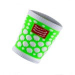 Compressport Sweat Band csuklópánt Fluo Green