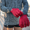 Compressport 3D Thermo Seamless Running Gloves futókesztyű