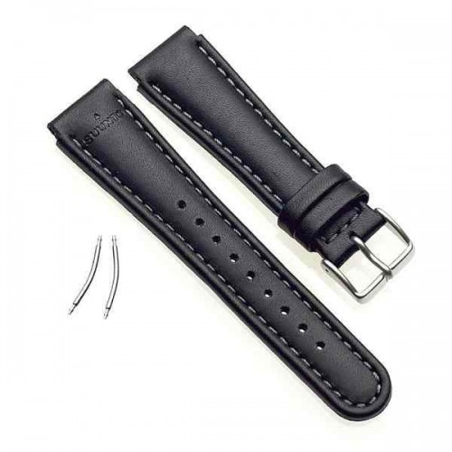 Suunto Black Leather Strap