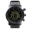 Suunto Elementum Terra Black/Yellow Leather outdoor óra