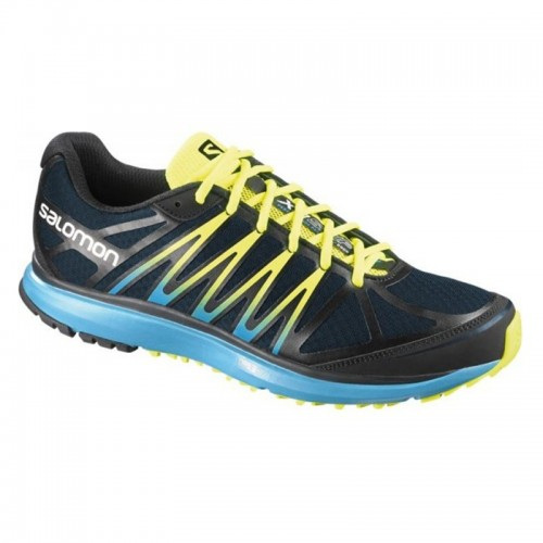 Salomon X-Tour Midnight Blue-Black-Boss Blue férfi City Trail futócipő