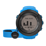 Suunto Ambit3 Vertical Multisport GPS Blue HR pulzusmérő övvel