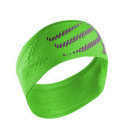 compressport-head-band-fluo-green