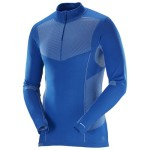 Salomon Primo Warm LS CN Seamless blue