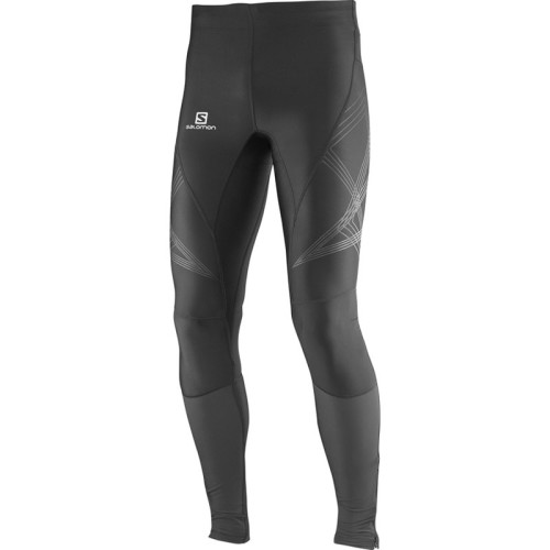 Salomon Intensity Long Tight M kompressziós férfi futónadrág