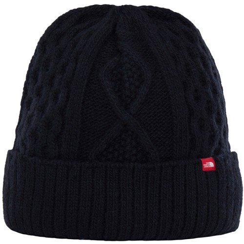 The North Face Lambswool Beanie téli sapka