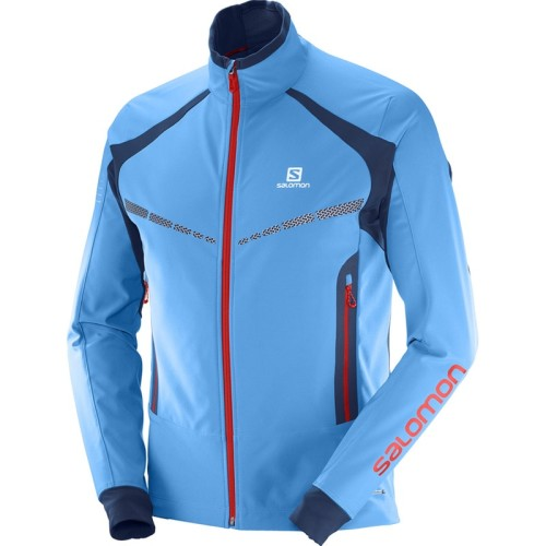Salomon RS Warm Softshell Jacket férfi softshell dzseki