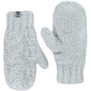 The North Face W Cable Knit Mitt női egyujjas kesztyű