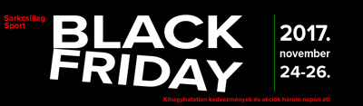 Sarkcsillag Sport Black Friday
