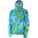 Salomon Lightning Wind Graphic Hoodie női futódzseki
