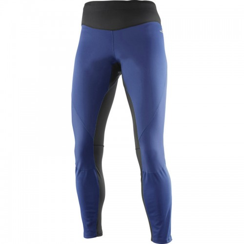 Salomon Trail Runner Windstopper Tight W szélálló női futónadrág