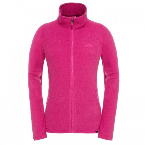 The North Face W 100 Glacier Full Zip női polár felső
