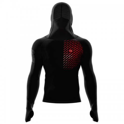 Compressport 3D Thermo Ultralight Racing Hoodie technikai felső