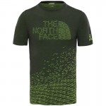 The North Face M Flight Logo SS Tee férfi technikai póló