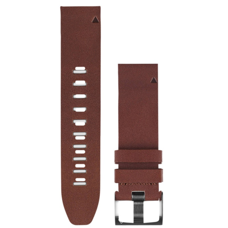 Garmin Quickfit 26 Brown Leather Strap bőr óraszíj c5f8ebd194