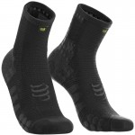 Compressport Pro Racing Socks V3.0 Run High Cut Black Edition futózokni
