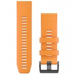 Garmin Quickfit 26 Orange Silicone Strap óraszíj