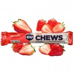 Gu Energy Chews Strawberry energiazselé gumicukor