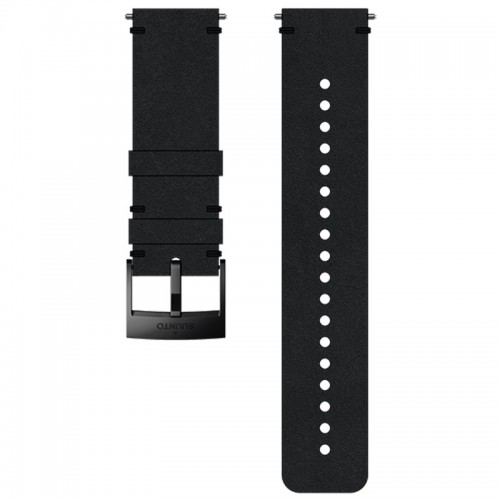 Suunto 24 mm Urban 2 Leather Strap Black / Black bőr óraszíj