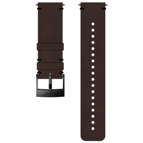 Suunto 24 mm Urban 2 Leather Strap Brown / Black bőr óraszíj