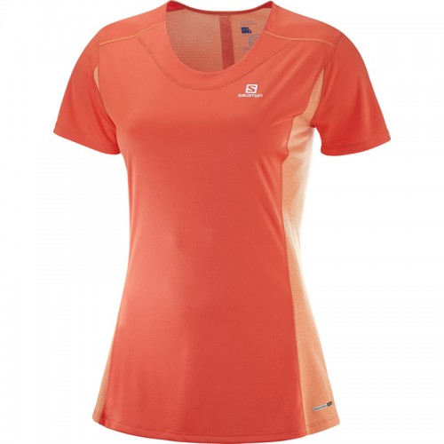 Salomon Agile Heather Tee W női futópóló