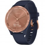 Garmin vivomove 3S Navy / Rose Gold multisport óra