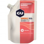 Gu Energy Gel Strawberry Banana gluténmentes energia zselé 480 g