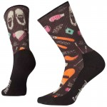 Smartwool W's Light Hut Trip Print Hiking Crew Socks női gyapjú zokni