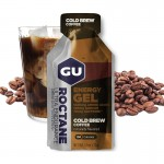 Gu Roctane Energy Gel Cold Brew Coffee gluténmentes energia zselé