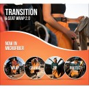 Orange Mud Transition Wrap multifunkciós törölköző